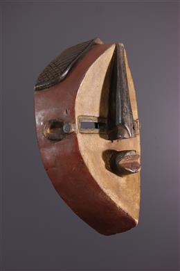 Art africain - Masque Lwalwa