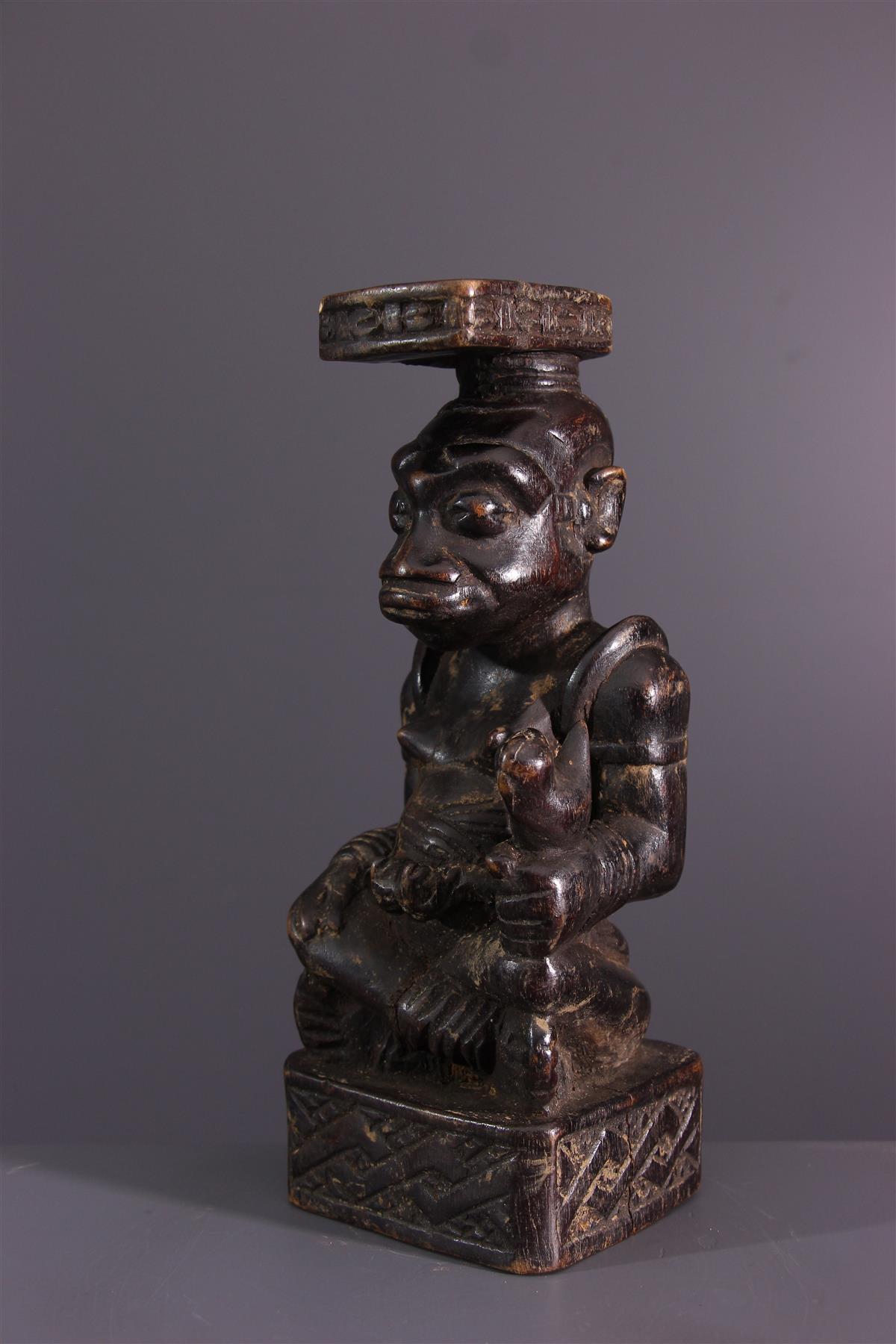 Statuette Ndop - Art africain