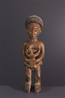 Statuette de fécondité Lwena