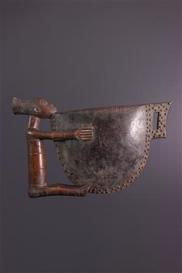 Tambour à fente figuratif Mangbetu