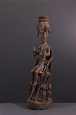 Art africain - Figure dautel Yoruba