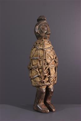 Art africain - Statuette fétiche Yaka Yiteke
