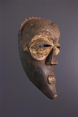 Art africain - Masque Mbagani, Babindi