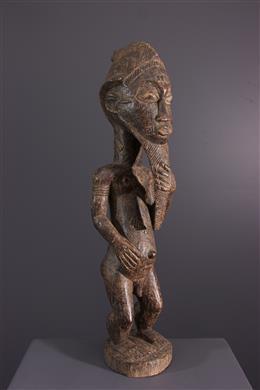 Art africain - Statue Baule Waka Sona