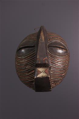 Art africain - Masque Kifwebe Luba Congo RDC