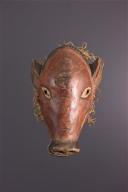Art africain - Petit masque Tschokwe Ngulu
