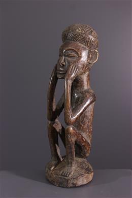 Art africain - Statuette Kaponya wa Pwo nyi cikungulu Chokwe/Lwena
