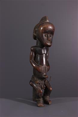 Art africain - Statuette de gardien de reliquaire du Byeri