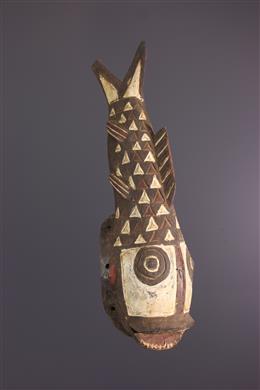 Art africain - Masque Gurunsi Poisson