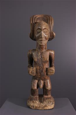 Art africain - Statuette Chokwe Mwanangana