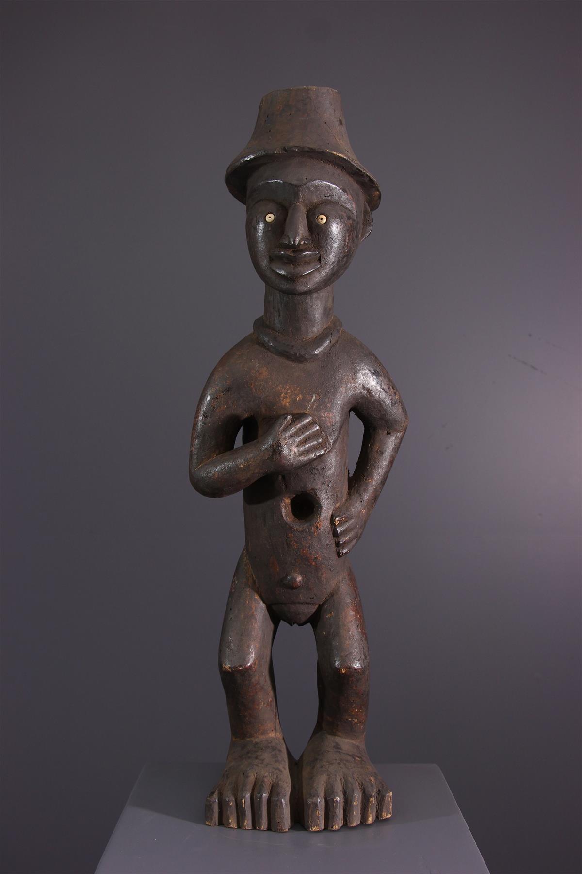 Statue Bakongo - Art africain