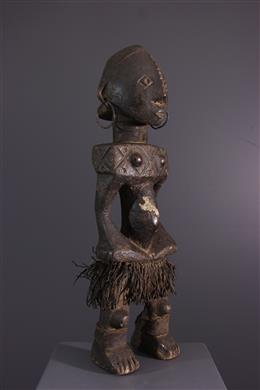 Art africain - Figure féminine Ngbandi Ngbirondo