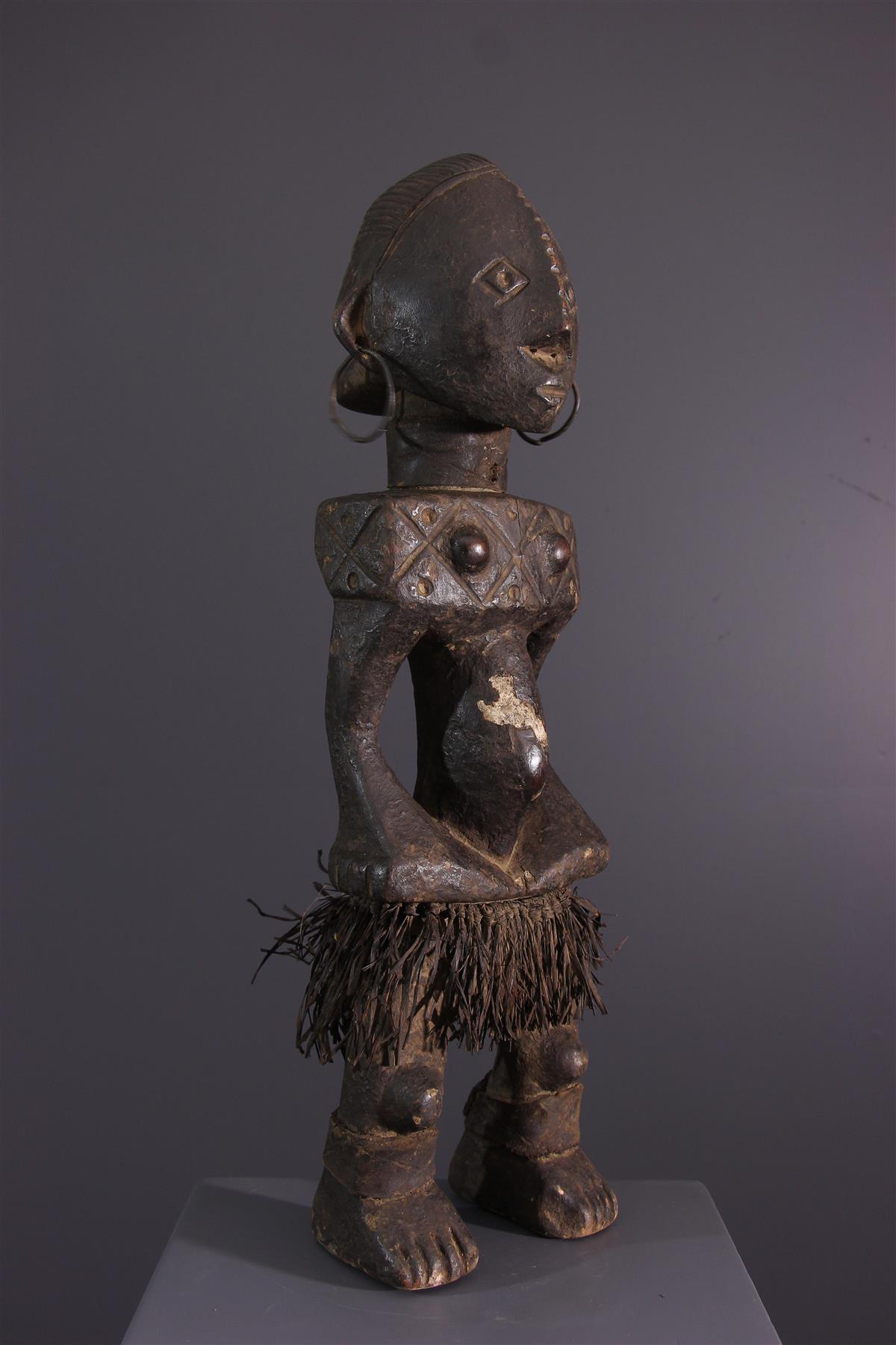 Statue Ngbandi - Art africain