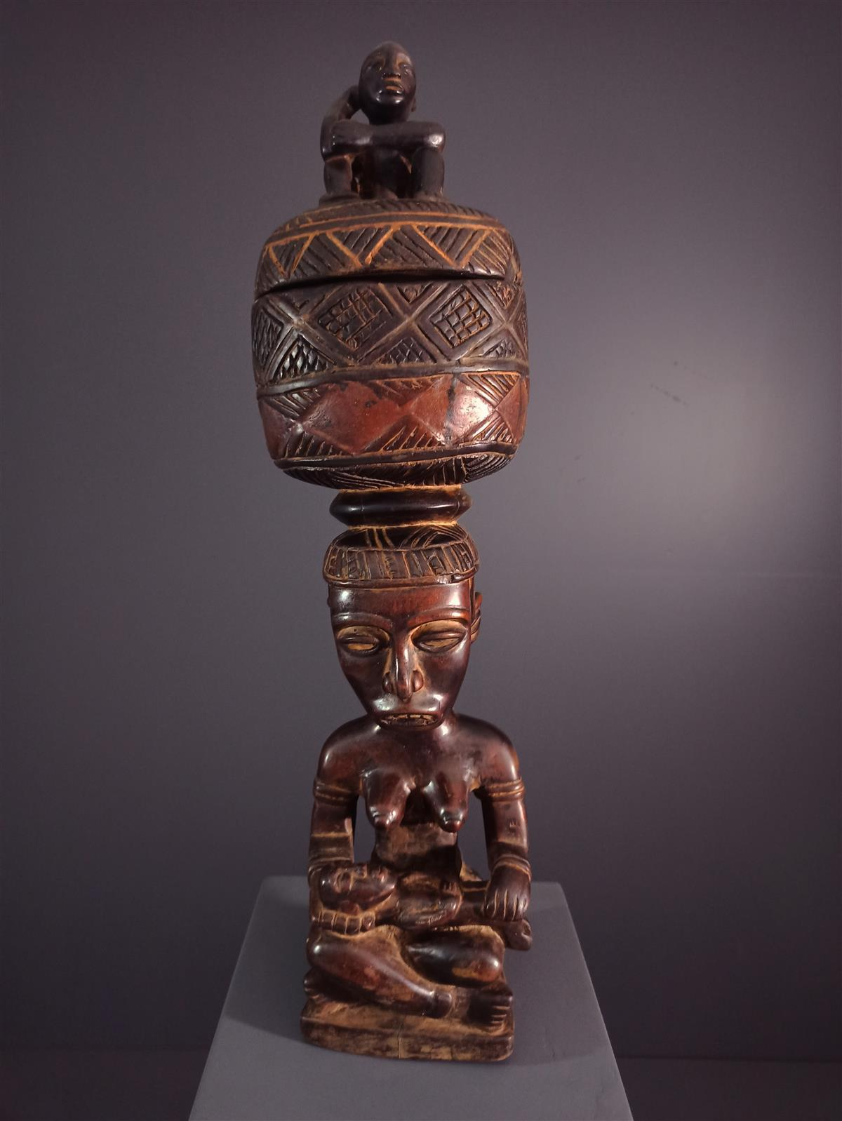 Boite Kongo - Art africain