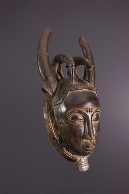 Masque Effigie Yohouré Baoulé