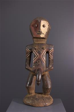 Art africain - Statue funéraire Metoko