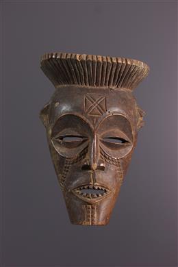Art africain - Petit masque Cihongo, Chihongo, Chokwe