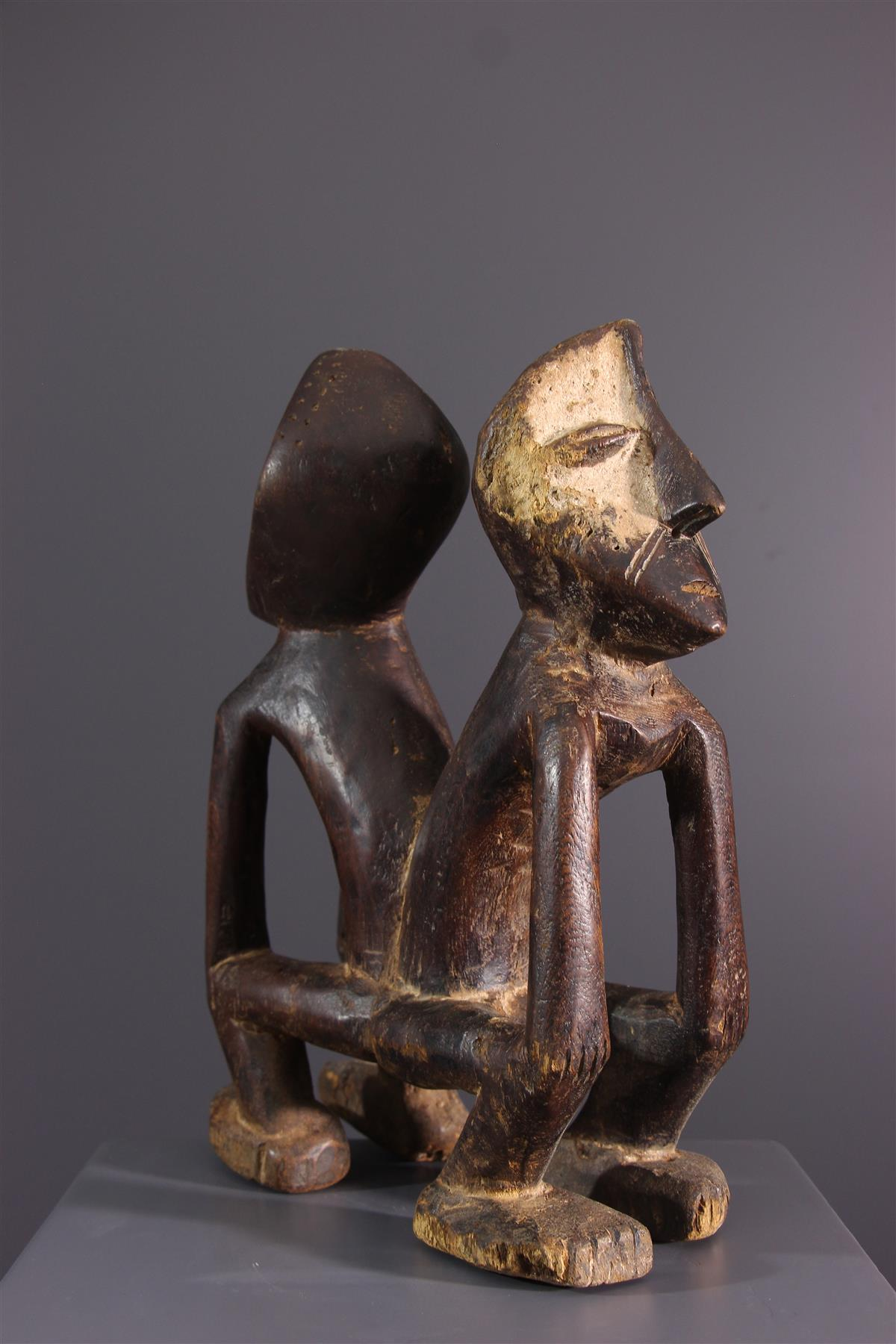 Couple Lega - Art africain
