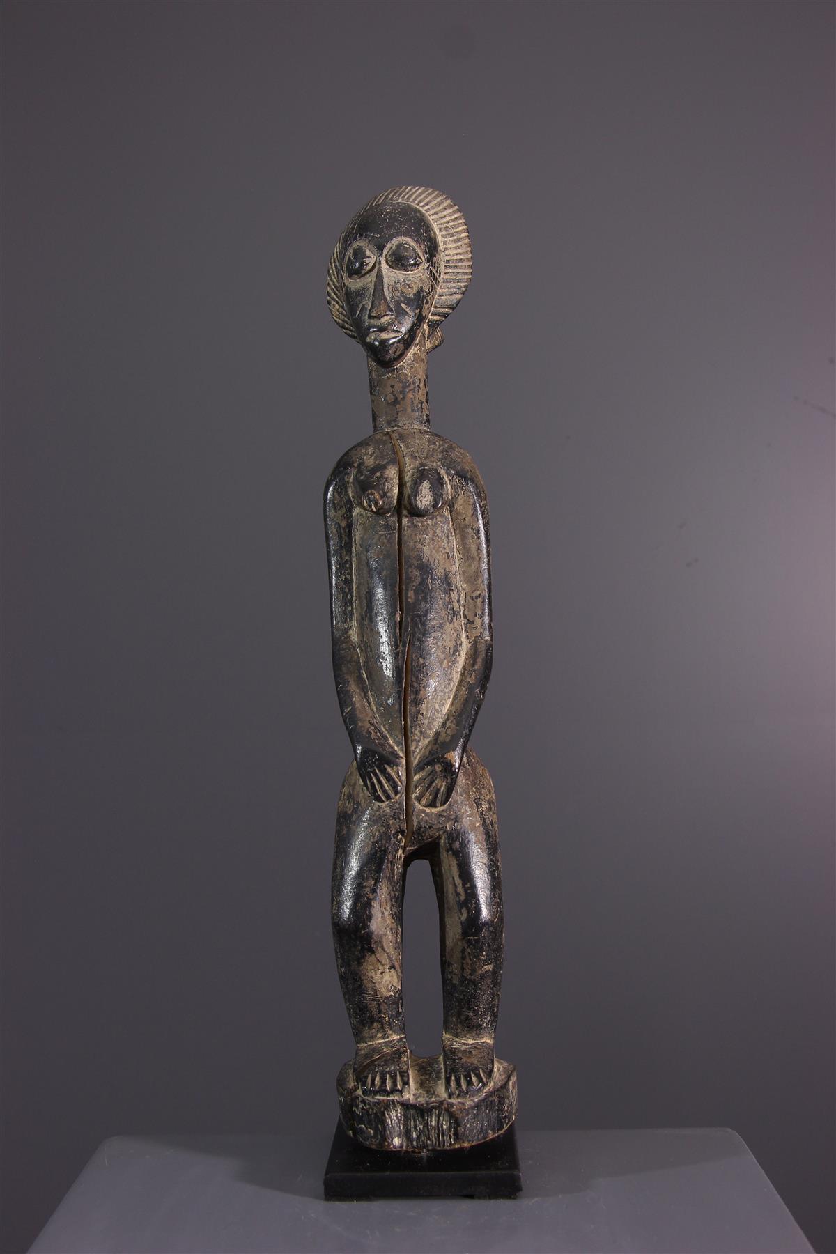 Figure Baoulé - Art africain