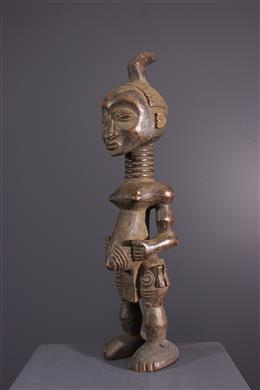 Art africain - Figure féminine Lulua, Luluwa