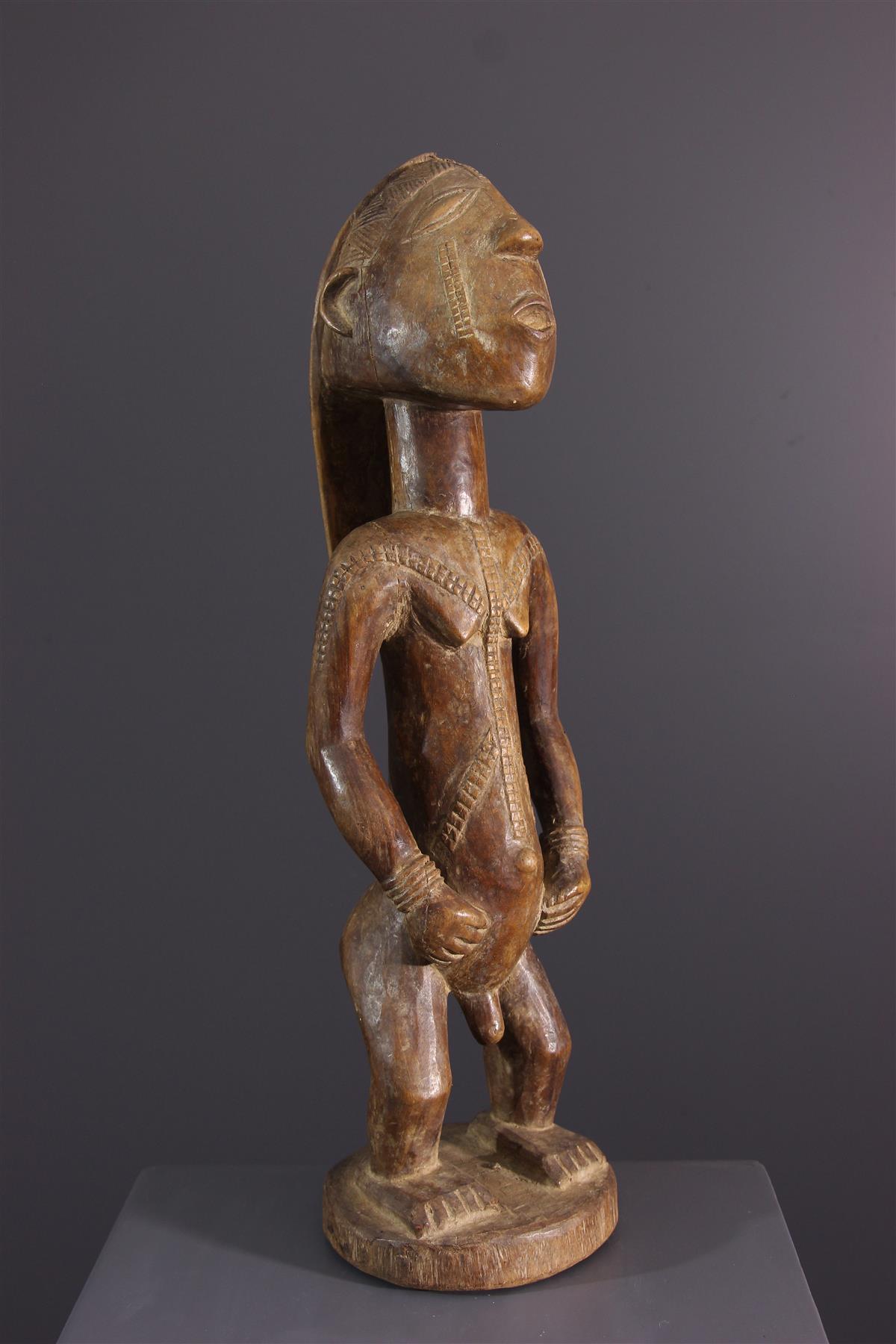 Statue Tabwa - Art africain