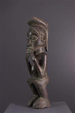 Art africain - Fétiche rituel Suku Malwambi