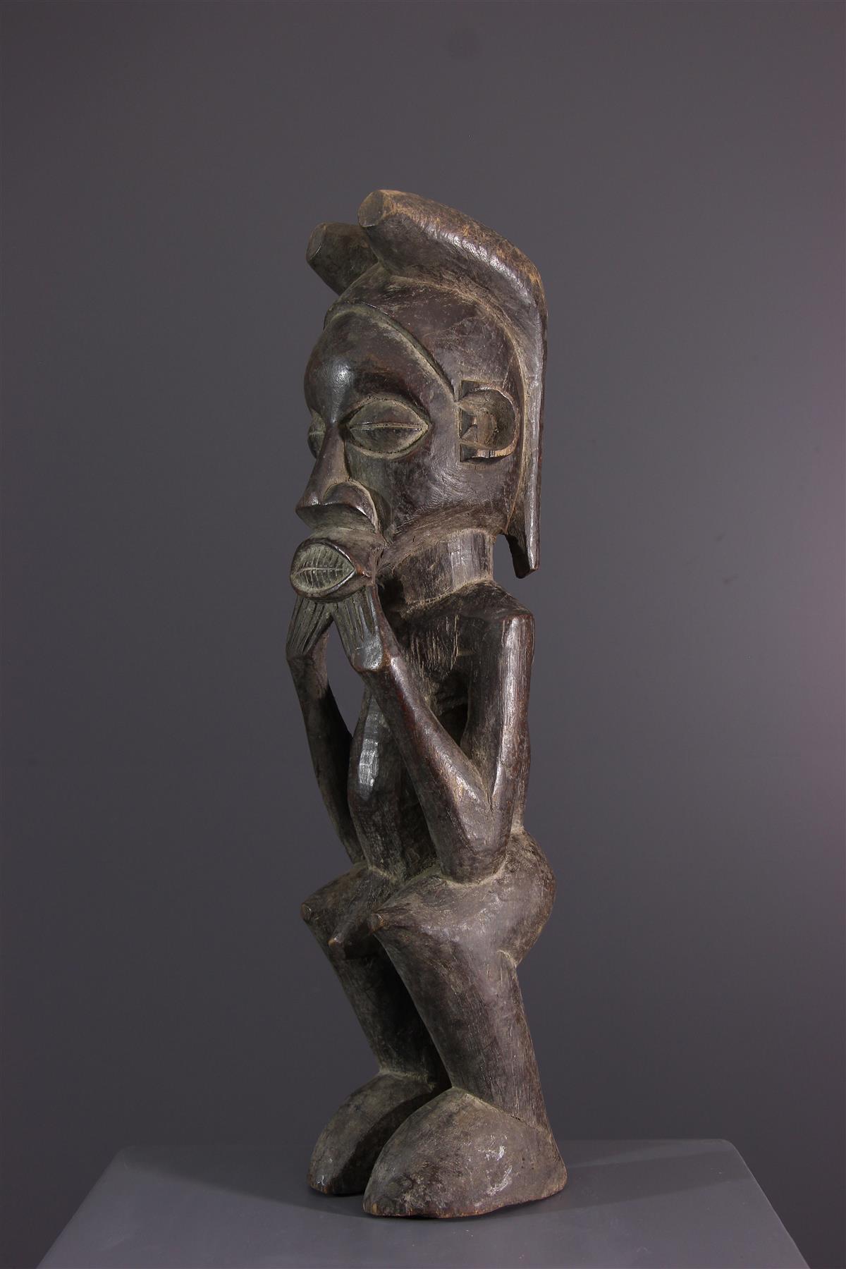 Statue Suku - Art africain