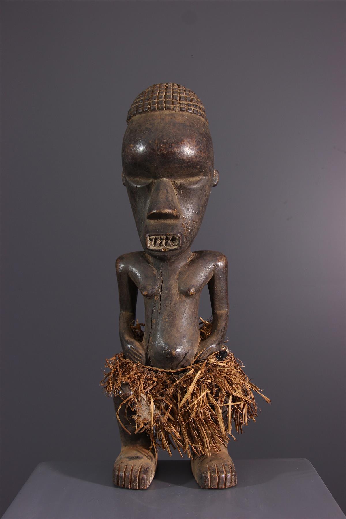 Statuette Salampasu - Art africain