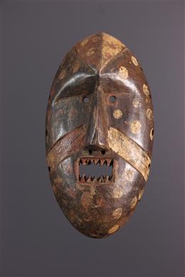 Art africain - Masque Kumu, Komo Nsembu