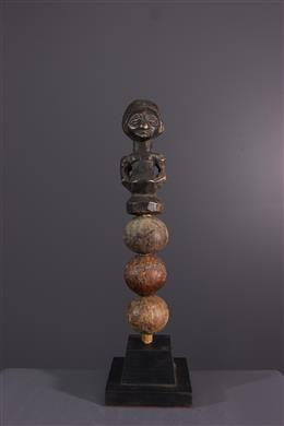 Art africain - Hochet rituel Luba / Hemba Kabwelulu