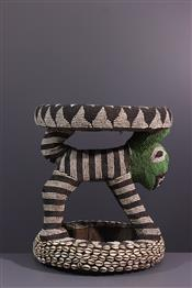 Tabourets, chaises, trônesSiège Bamileke