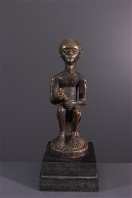 Art africain - Statuette dancêtre Chokwe