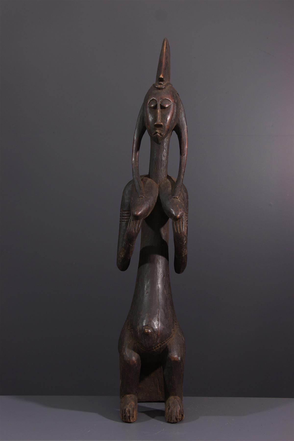 Statue Bamana - Art africain