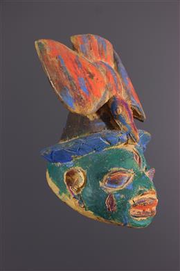 Art africain - Petit masque Gelede