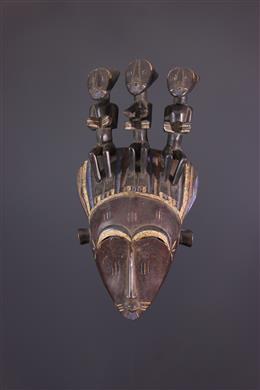 Art africain - Masque Koulango Bouna du Do