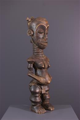 Art africain - Figure de maternité Lulua Buanga Bua cibola
