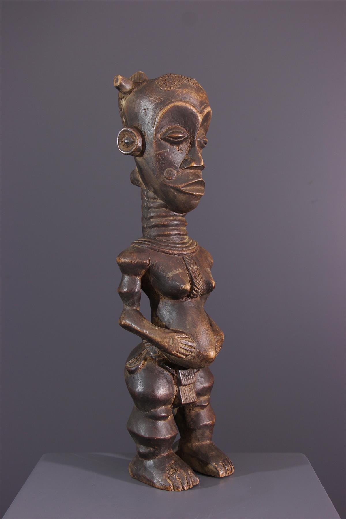 Statue Lulua Buanga - Art africain