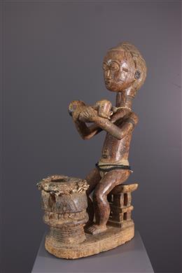 Art africain - Maternité Baule Waka sona