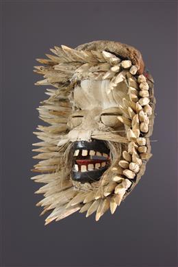 Masque blanc Wé Guéré