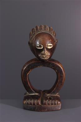 Art africain - Oracle de divination Luba/Songye Katatora