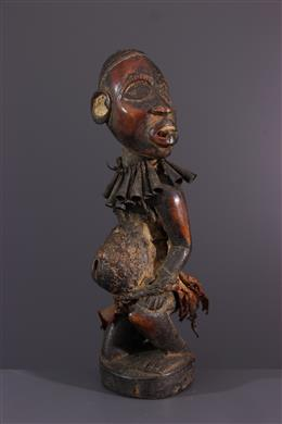 Art africain - Statuette fétiche Kongo/Vili  Nkisi