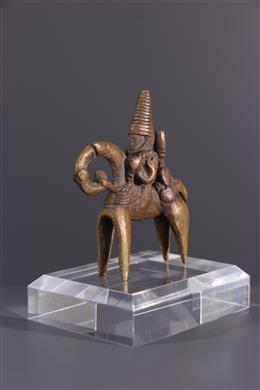 Art africain - Figure équestre Putchu Guinadji Sao Kotoko