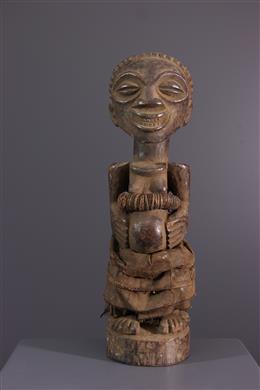 Art africain - Statue fétiche Nkisi des Songye