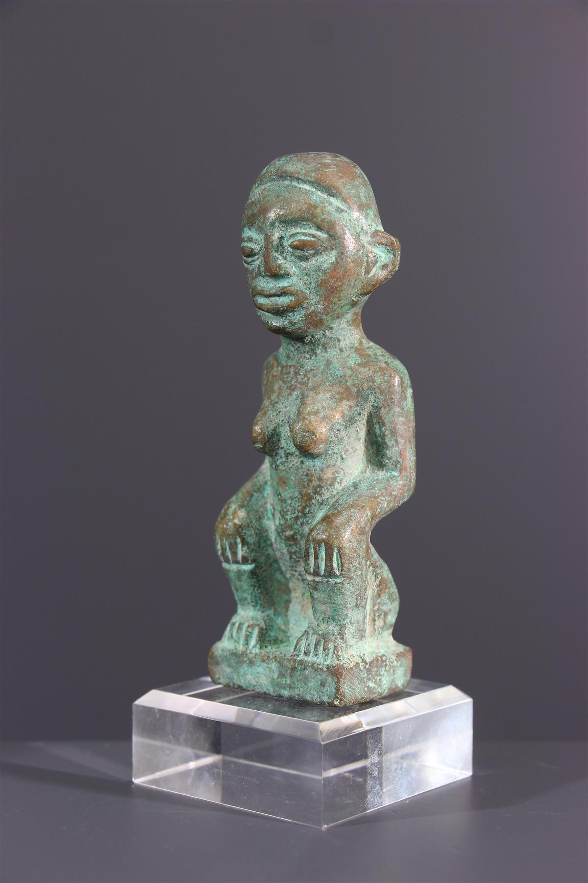 Bronze Kongo - Art africain
