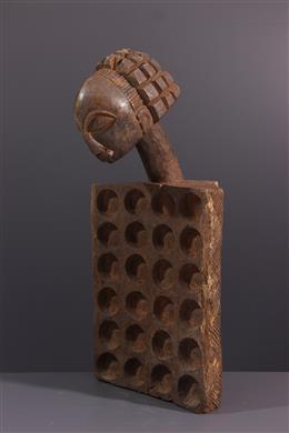 Art africain - Jeu céphalomorphe Luba