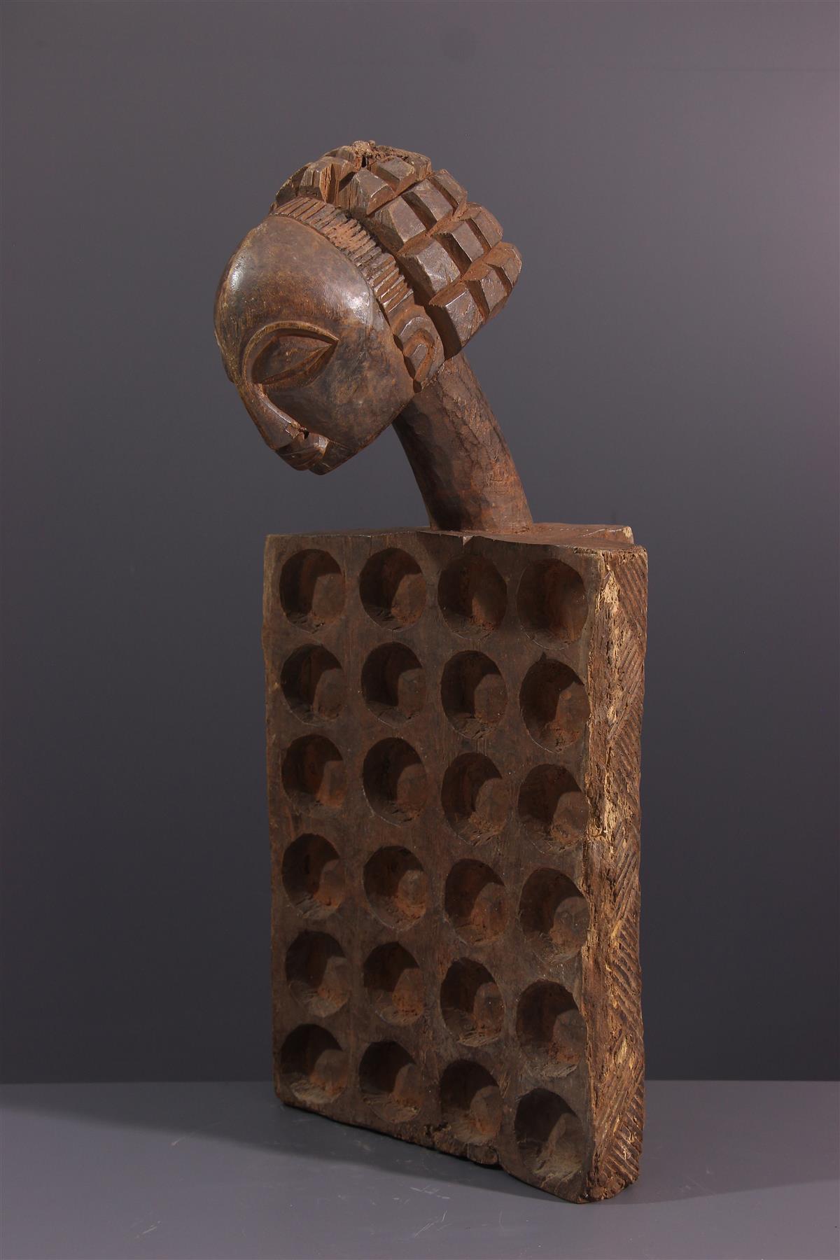 Awalé Luba - Art africain