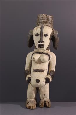 Art africain - Figure dautel Urhobo