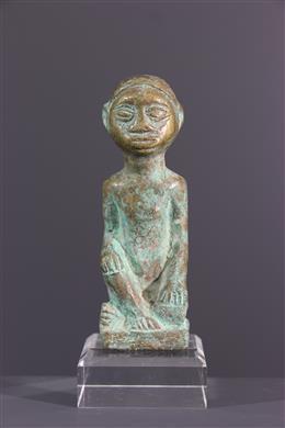 Figure  Kongo en bronze