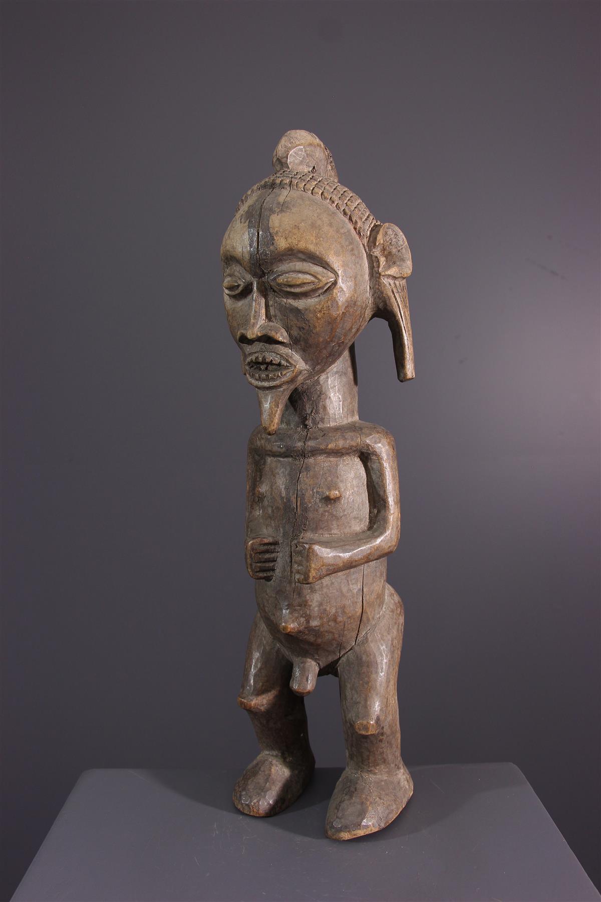 Statue Mbala - Art africain