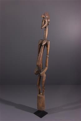 Art africain - Statue pilon Deble Senoufo